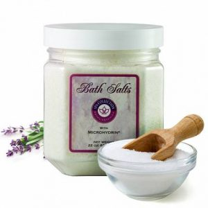 Bath Salts with Microhydrin