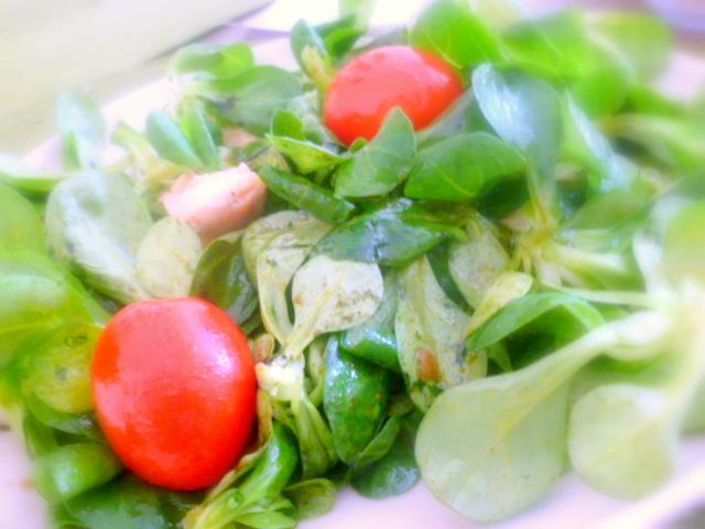 Salat mit Green Green