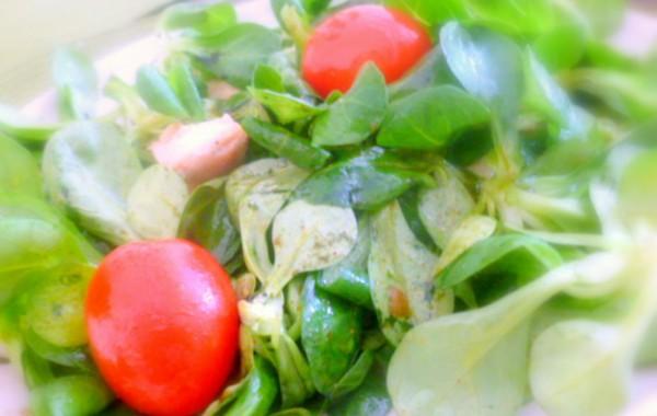 Feldsalat mit Green Green