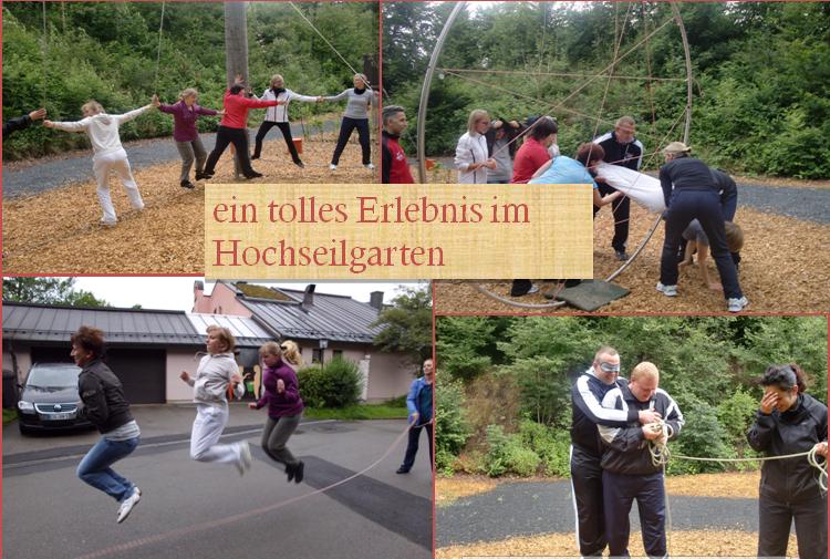 Hochseilgarten Neukirchen
