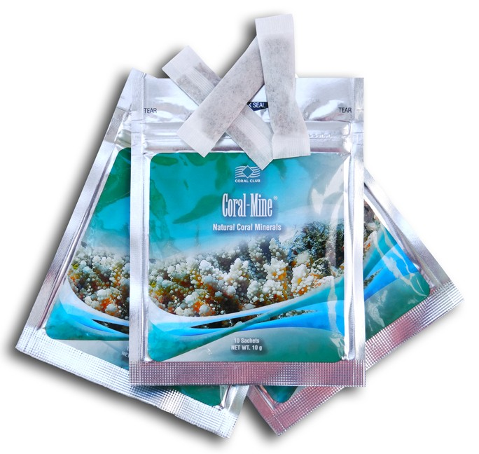Zubereiten vom Korallen Wasser (Coral – Mine)