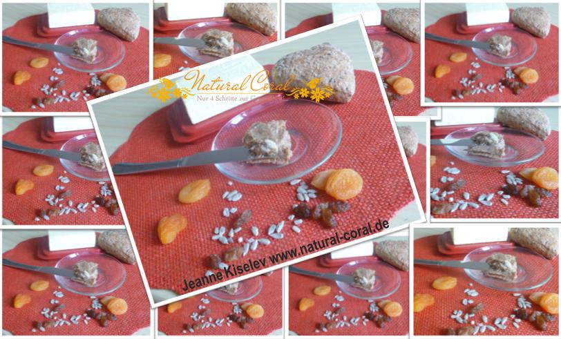 Süßer Brotaufstrich mit Rosinen