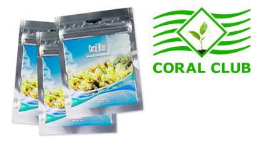 Coral-Mine ist ein Markenzeichen von Coral Club