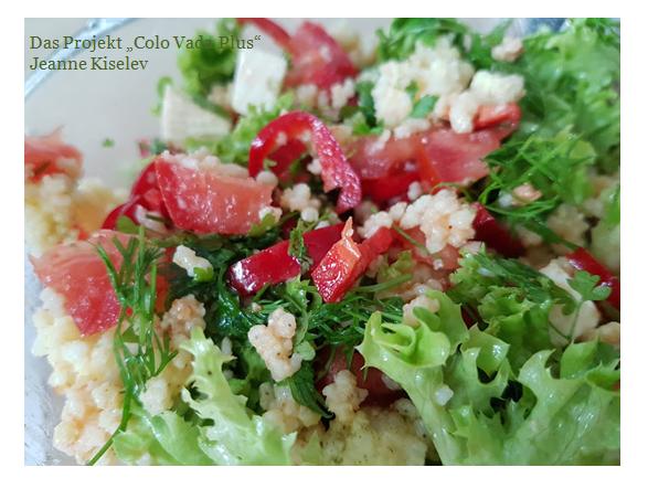Hirse – Salat