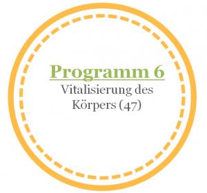 Programm 6: Vitalisierung des Körpers (47)mit Coral Club Produkten (nach Olga Butakova)
