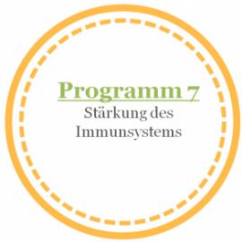 Programm 7: Stärkung des Immunsystems mit Coral Club Produkten (nach Olga Butakova)