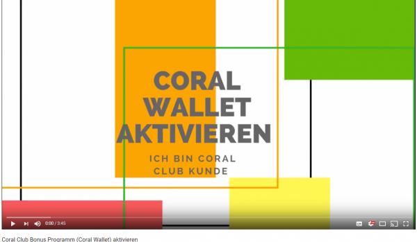Coral Club Produkte