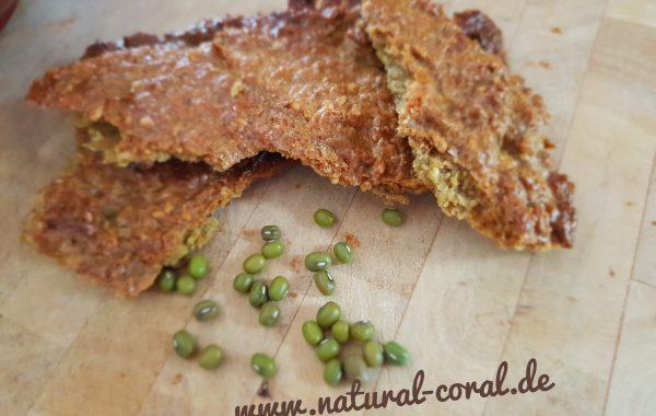 Mungbohnen – Mandel – Brot