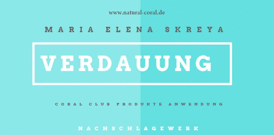 Coral Club Produkte: Verdauung/ Übergewicht (Nebennieren), M.E. Skreya