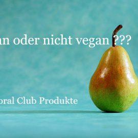 Coral Club Produkte: vegan oder nicht vegan?